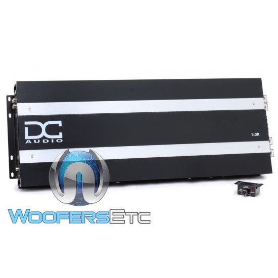 DC Audio 5.0K Monoblock 5000W RMS Digital Amplifier