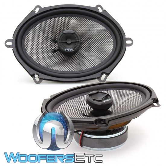 """Focal 570AC 5"""" x 7"""" / 6"""" x 8"""" 60W RMS 2-Way Access Series Coaxial Speaker"""
