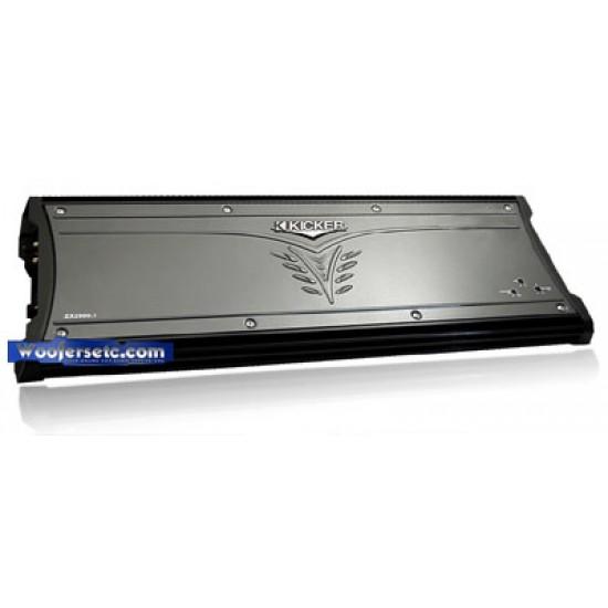 08ZX2500 1- Kicker 1 Ch  2500 Watt Amplifier
