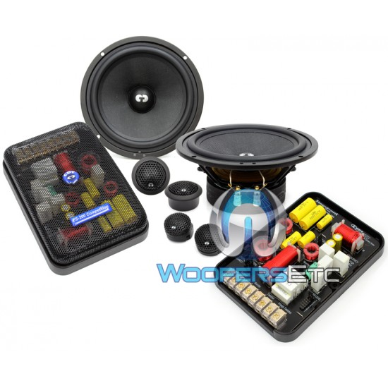 "ES-62iUS - CDT Audio Gold Series 6.5"" EuroSport Component Speakers with Up Stage"
