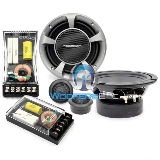 "CTX65CS - Image Dynamics 6.5"" Component Speaker System"