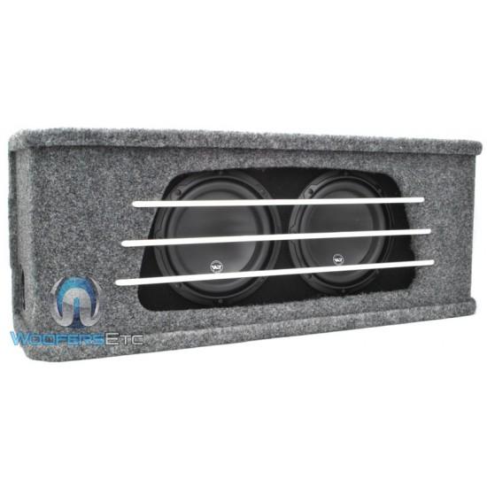 HO208G-W3v3 - JL Audio Dual 8W3v3-4 Sub in High Output Enclosure