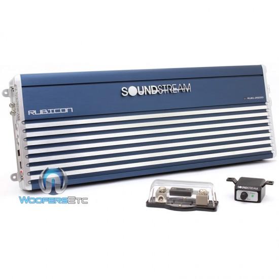 RUB1 2500D - Soundstream Monoblock 2500 Watt RMS Rubicon