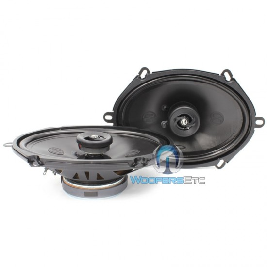 "15-PR572V2 - Memphis 5"" x 7"" 2-Way Power Reference Coaxial Speakers w/ Swivel Tweeter"