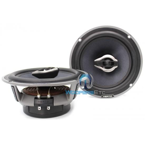 """HCX 165 - Hertz 6.5"""" 2-Way Hi-Energy Coaxial Speakers"""