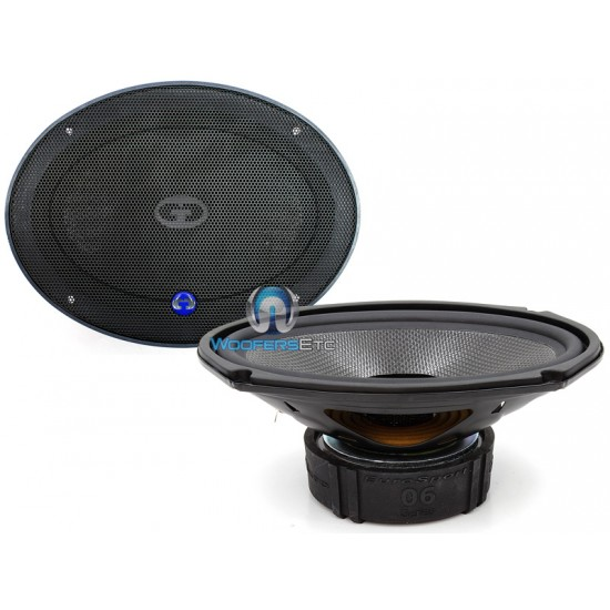 """ES-0690 GOLD - CDT Audio 6""""x9"""" 2-Way Extended Mid-Bass Speakers"""