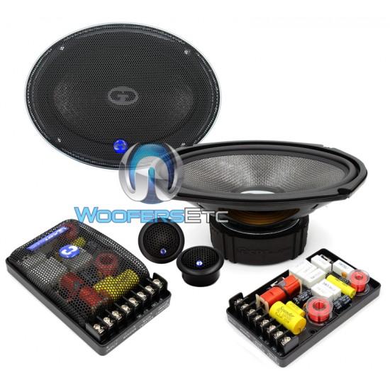 "HD-690 COM.2 - CDT Audio 6"" x 9"" Component Speaker System"