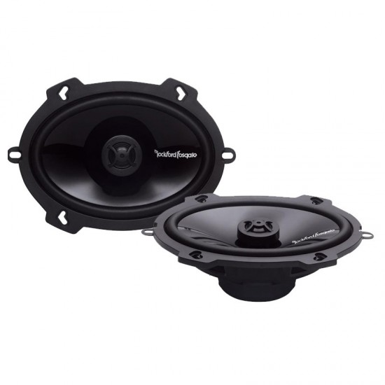 """P1572 - Rockford Fosgate 5"""" x 7"""" Punch Series 2-way Coaxial Speakers"""