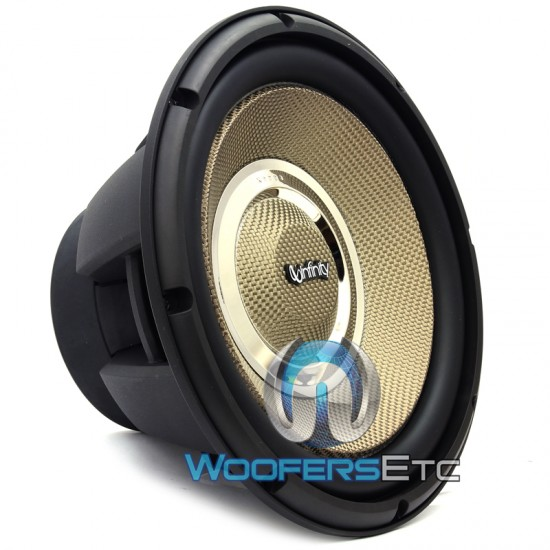 "Kappa 120.9W - Infinity 12"" Selectable Smart Impedance Kappa Series Subwoofer"