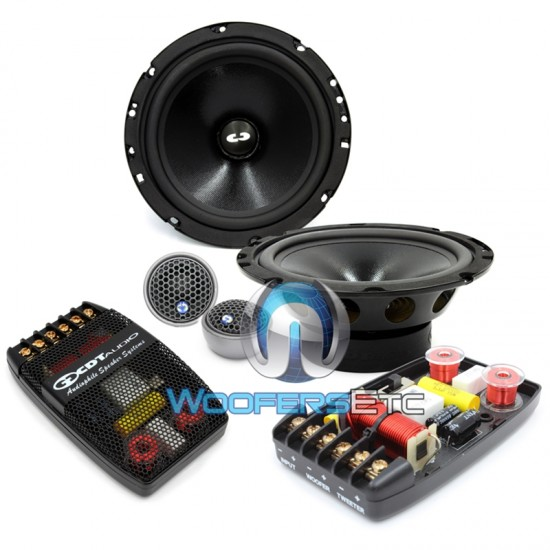"CL-61A - CDT Audio Classic 6.5"" 2-Way Component Speakers"