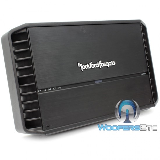 P600X4 - Rockford Fosgate 600W 4-Channel Punch Series Amplifier