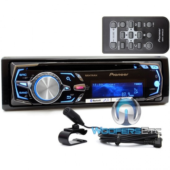 DEH-X8500BS - Pioneer In-Dash CD/MP3/USB Car Stereo Receiver