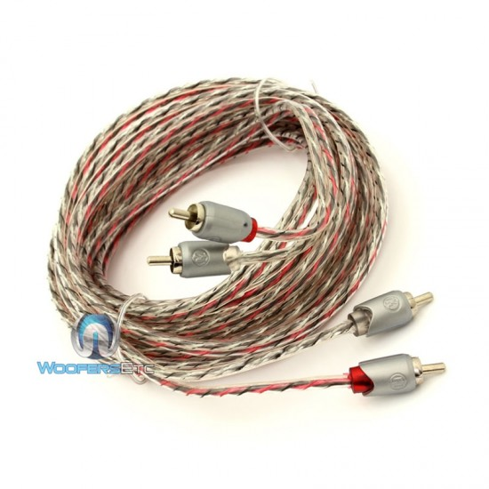ETP-17 - Memphis 17' 2-Channel Twisted Interconnect Audio RCA Cable