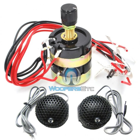 "IEK-100/LP - CDT Audio 1"" Silk Imaging Tweeters with Level Control Unit"