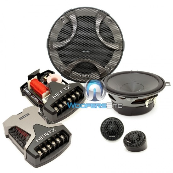 esk 130 5 hertz 450w peak 2 way component speaker system. Black Bedroom Furniture Sets. Home Design Ideas