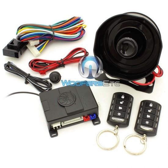 AL.1 - Soundstream 3-Channel Car Security Alarm System Keyless Entry