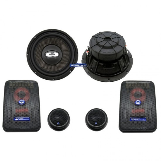 "HD-82 - CDT AUDIO 8"" 2"" HIGH DEFINITION COMPONENT SET KIT SYSTEM"
