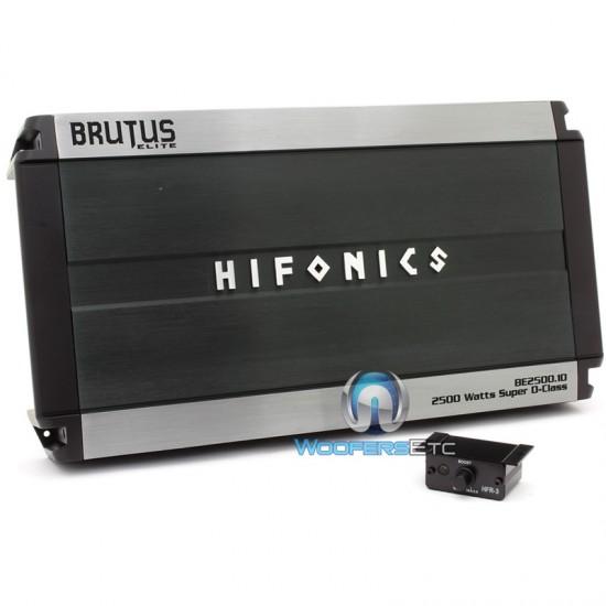 BE2500 1D - Hifonics Monoblock 2500W RMS Brutus Elite Series