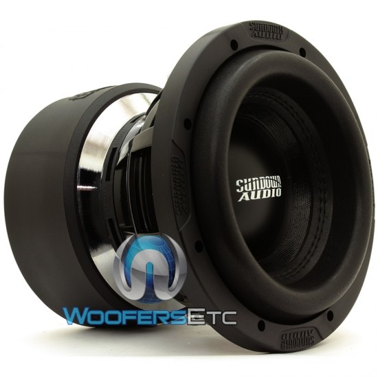 "Sundown Audio X-8 D4 8"" 750W RMS Dual 4-Ohm X-Series Subwoofer"