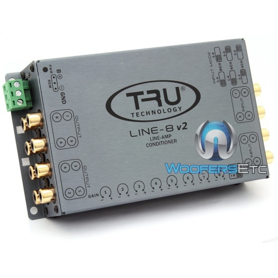 Line-8iS V2 - Tru Technology 8-Channel Line Driver