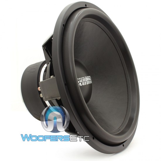 "Sundown Audio SA-18 REV3 D2 18"" 750 Watts RMS Dual 2-Ohm SA Series Subwoofer"