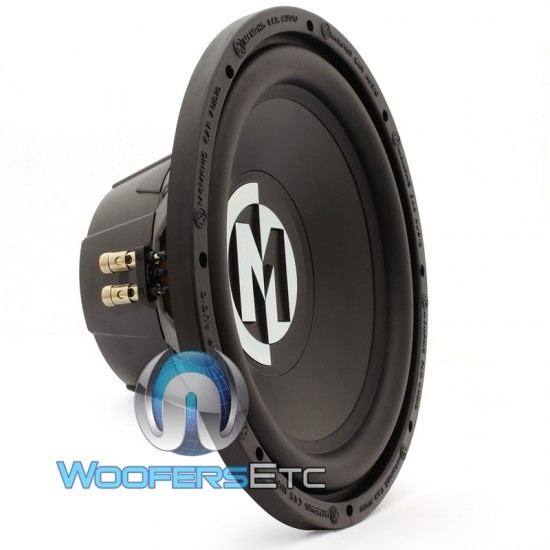 "15-SRX12D4 - Memphis 12"" 250W RMS Dual 4-Ohm Street Reference Subwoofer"
