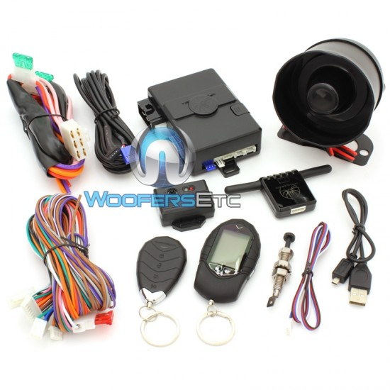 Tarantula ARS.3 - Soundstream 2-Way Alarm and Keyless Entry Combo Remote Starter