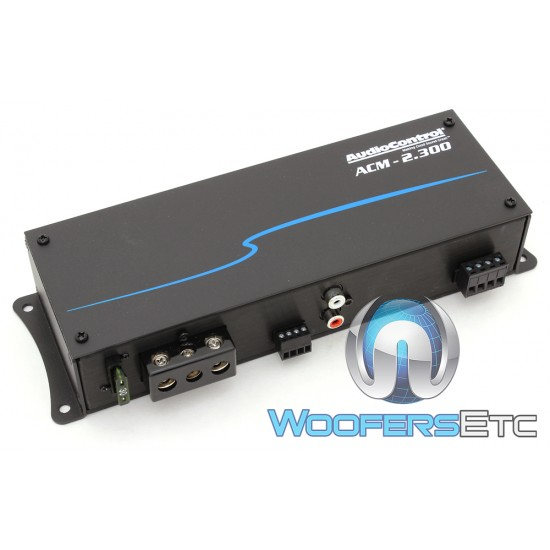 AudioControl ACM-2.300 2-Channel 300W RMS Micro Amplifier