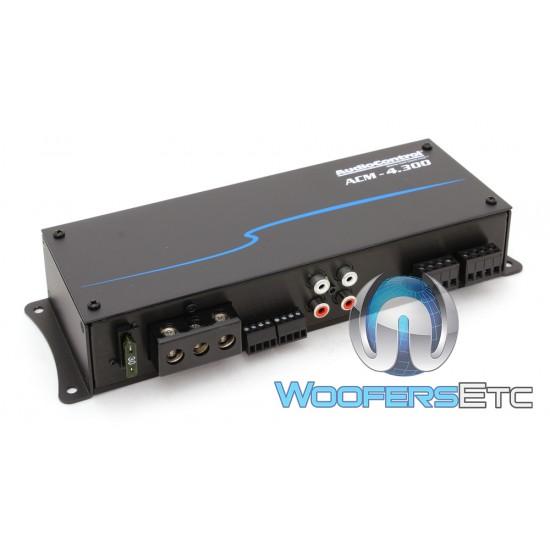 AudioControl ACM-4.300 4-Channel 300W RMS Micro Amplifier