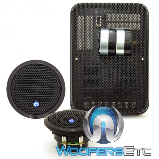 """CDT Audio AF-256/2BL 2"""" Accent Fill System Mid-Tweeter Speakers"""