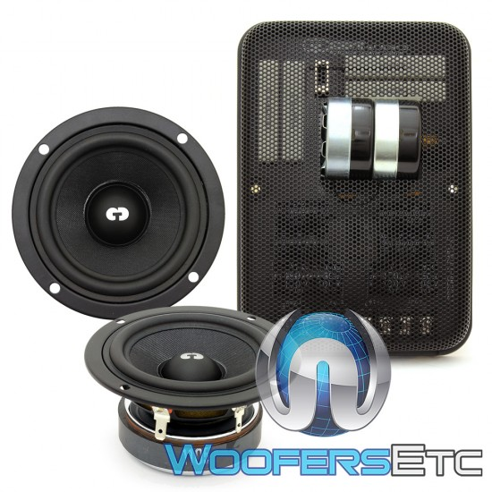 """CDT Audio AF-256/3 3"""" Accent Fill System Speakers"""