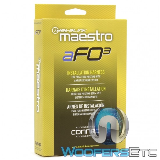 iDatalink Maestro aFO3 (HRN-AR-FO3) T-Harness for Installing the Maestro AR or DSR1 for 2015+ Ford Mustang