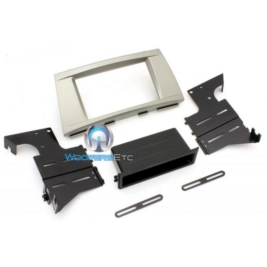 TOYK983S - American International Installation Dash Kit for 07-11 Toyota Camry Silver Finish