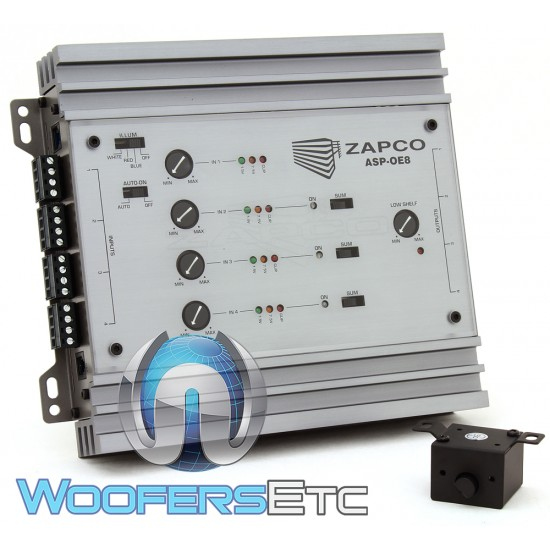 Zapco ASP-OE8 8-Channel OEM Signal Adapter