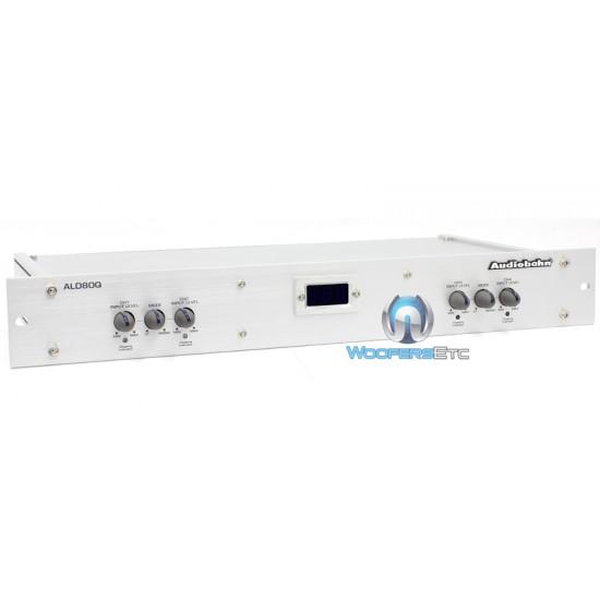 ALD80Q - Audiobahn 4 Channel 8 Volt Rack-Mount Line Driver