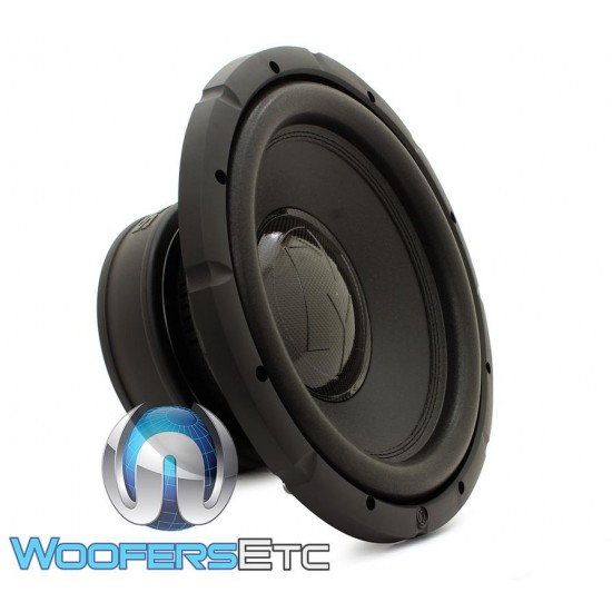 """Memphis BRX1244 12"""" 400 Watts RMS Dual 4-Ohm Bass Reference Series Subwoofer"""
