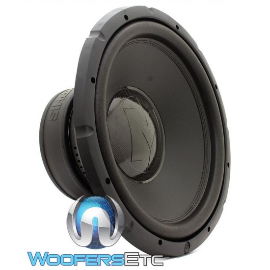 """Memphis BRX1540 15"""" 400W RMS Single 4-Ohm Bass Reference Series Subwoofer"""