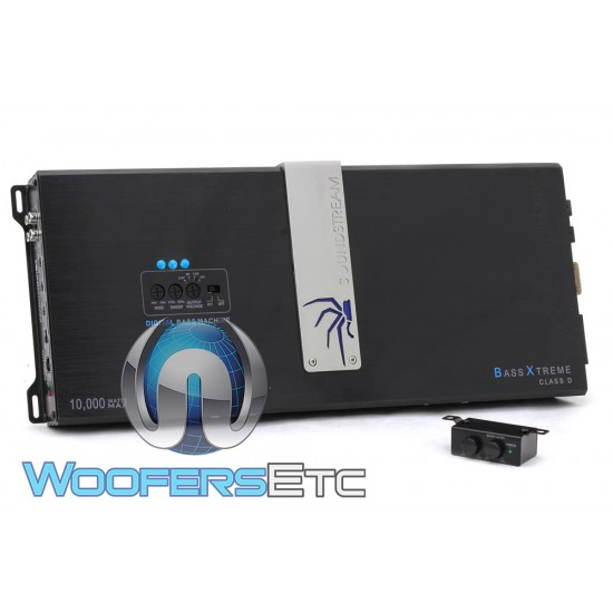 Soundstream BXA1-10000D Monoblock 10,000 Watts Bass Equalizer Epicenter Amplifier