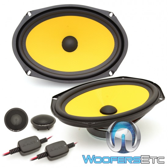"JL Audio C1-690 6"" x 9"" 120W RMS 2-Way Component Speakers System"