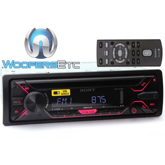 Sony CDX-G1200U 1-DIN In-Dash CD/MP3 Stereo Receiver