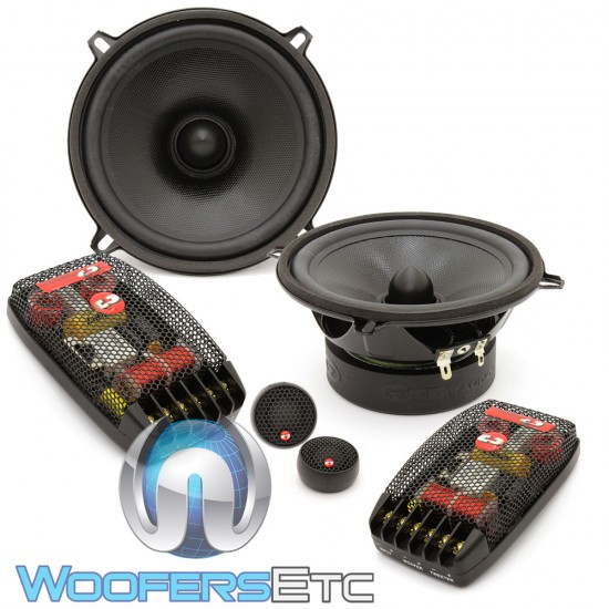 "CL-51A-25 PRO - CDT Audio Classic 5.25"" 2 Way Component Speakers"