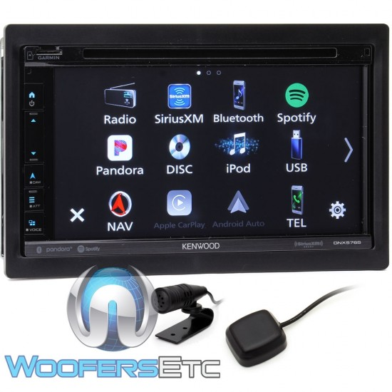 Kenwood DNX576S In-Dash 2-DIN 6 75
