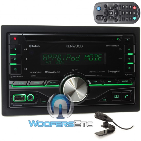 DPX501BT - Kenwood In-Dash 2-DIN CD/MP3/WMA Stereo Receiver ... on