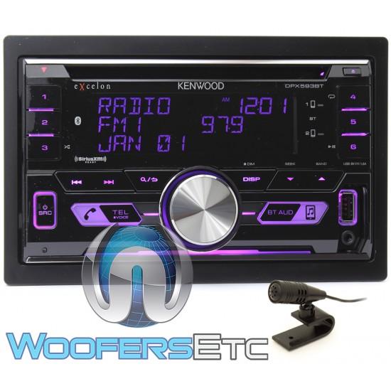Kenwood Excelon DPX593BT In-Dash 2-DIN CD/MP3, USB Car
