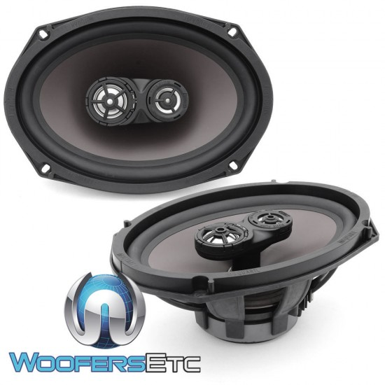 "(Bulk Pack) MB Quart DTF-169 6"" x 9"" 60 Watts RMS Coaxial Speakers"