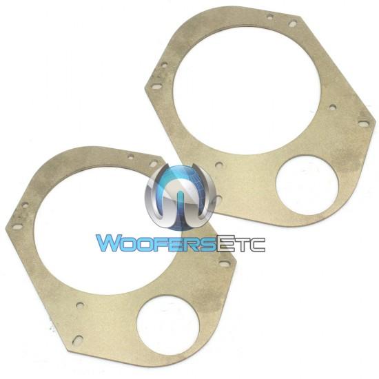 "Focal 5"" X 7"" / 6"" X 8"" High Quality Aluminum Speaker Adapter Ring"