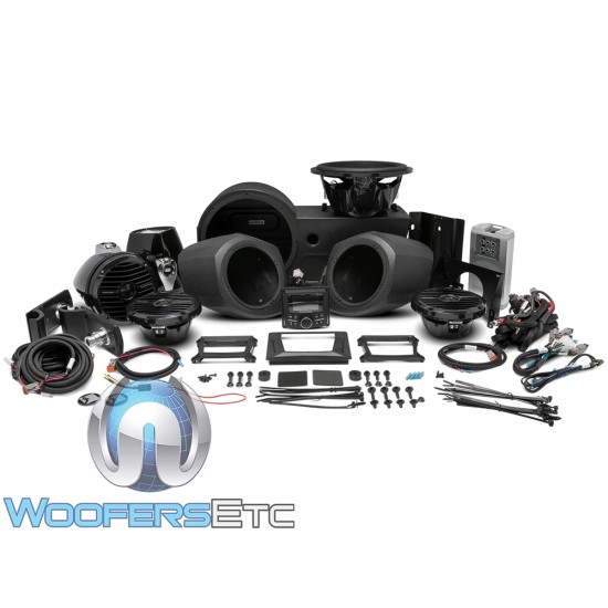 Rockford Fosgate GNRL-STAGE4 Stage 4 Audio Upgrade Kit for select 2016-2017 Polaris Generals