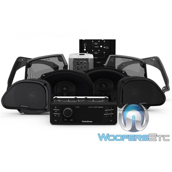 Rockford Fosgate HD9813RG-STAGE3 Audio Upgrade Kit for Select 1998-2013 Harley Davidson Road Glide Motorcycles