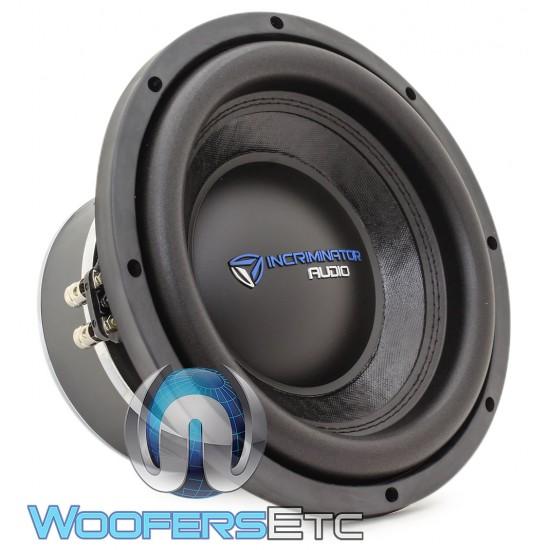 "Incriminator Audio I10D2 10"" 500W RMS Dual 2-Ohm I Series Subwoofer"