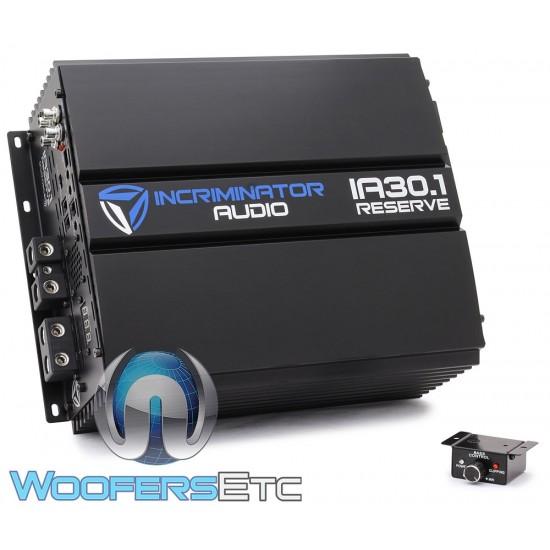 Incriminator Audio IA30.1 Monoblock 4000W RMS Class D Linkable Amplifier